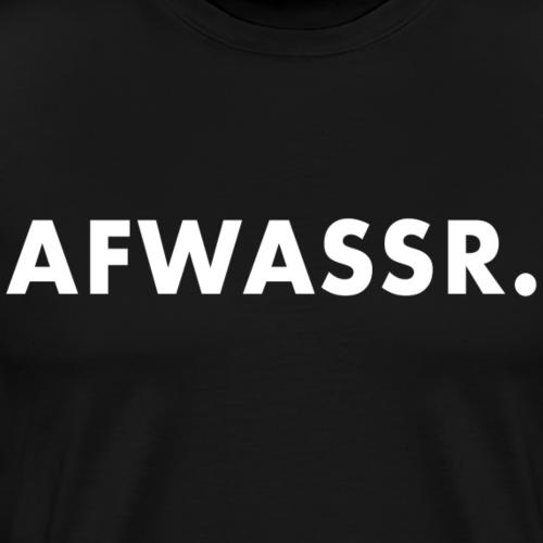 Afwassr - Mannen Premium T-shirt