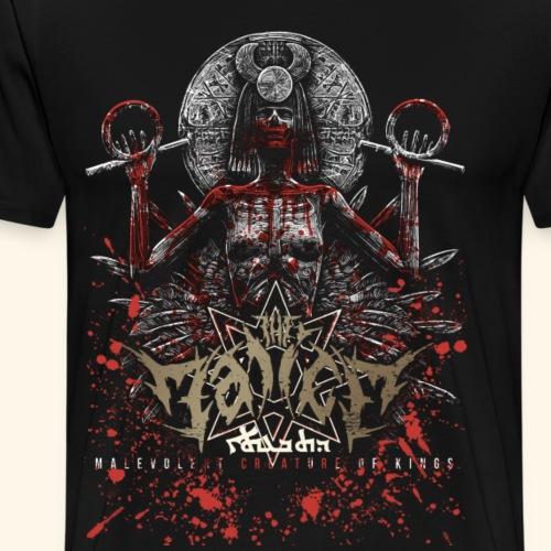 Ishtar in gore - Premium-T-shirt herr