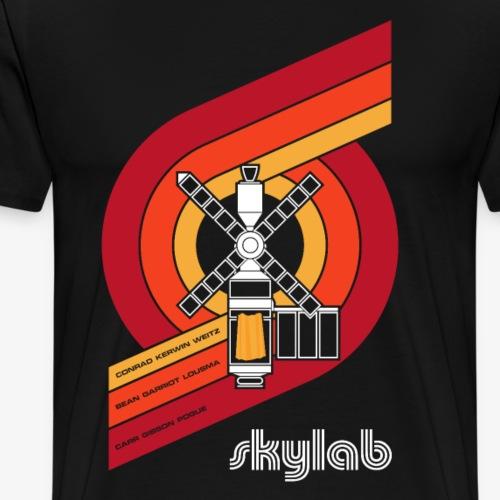 Skylab - America's Space Station (Large print) - Men's Premium T-Shirt