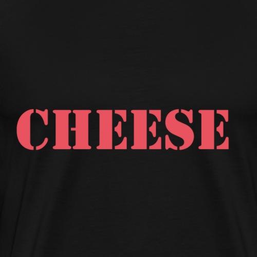Cheese - Käse - Männer Premium T-Shirt