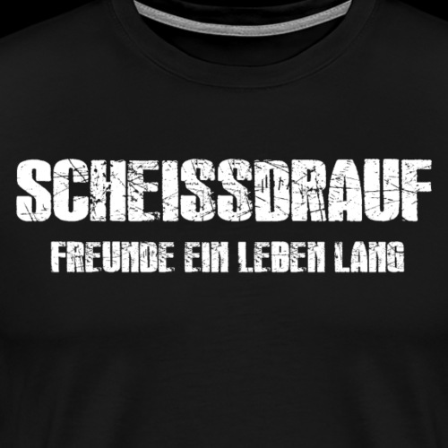 Freunde ein Leben lang - Männer Premium T-Shirt