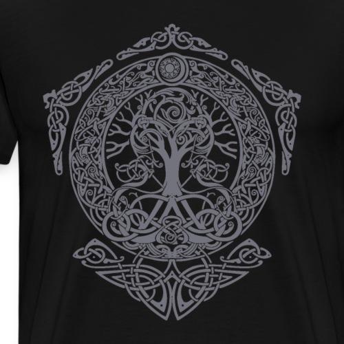 Tree of Life - Yggdrasil Weltenbaum Weltesche Thor - Männer Premium T-Shirt