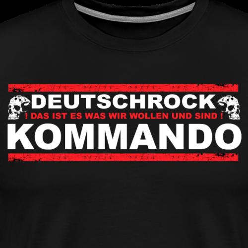 DEUTSCHROCK KOMMANDO - Männer Premium T-Shirt