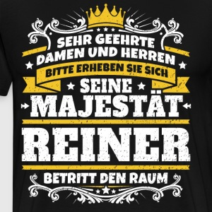 His Majesty Reiner - Men's Premium T-Shirt