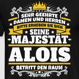 His Majesty Alois - Men's Premium T-Shirt