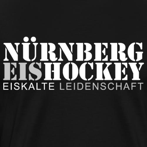 Nürnberg Hockey weiss - Männer Premium T-Shirt