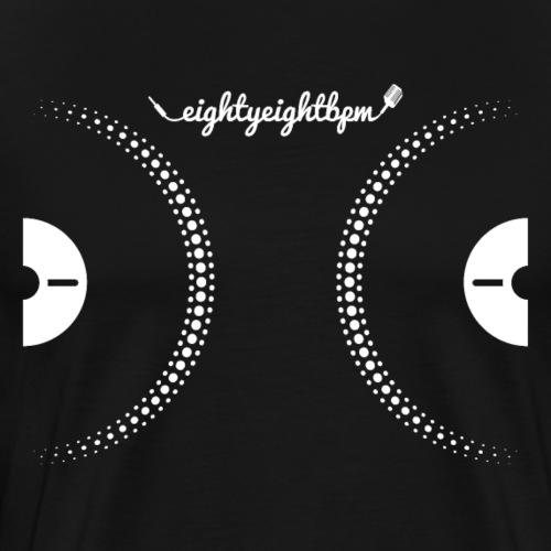 88 BPM DJ Decks - Men's Premium T-Shirt