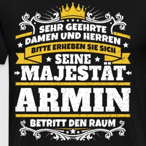 His Majesty Armin - Men's Premium T-Shirt