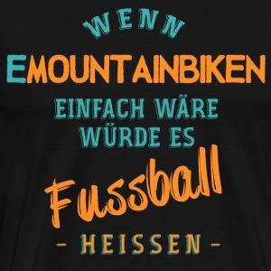 EMountainbike ebike und Pedelec Shirt - Männer Premium T-Shirt