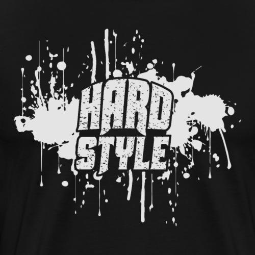 HARDSTYLE (white Design) - Männer Premium T-Shirt