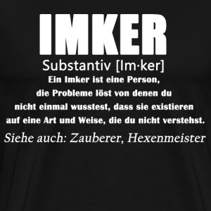 Imker - Imker Definition - Männer Premium T-Shirt