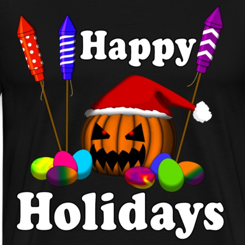 HAPPY HOLIDAYS - ALL IN ONE - Männer Premium T-Shirt