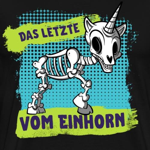 Das letzte vom Einhorn - Männer Premium T-Shirt