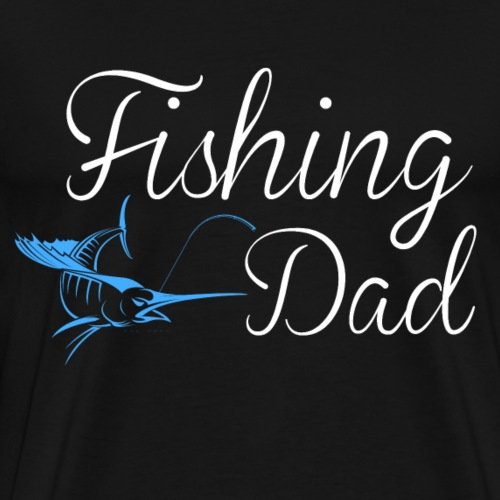 Fishing dad - Männer Premium T-Shirt