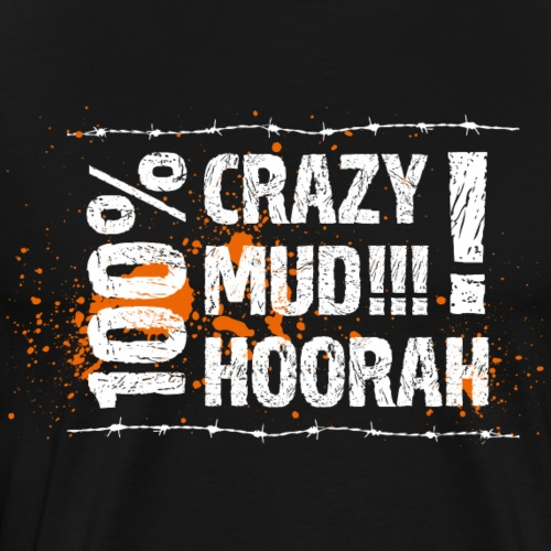 100% Crazy - Männer Premium T-Shirt