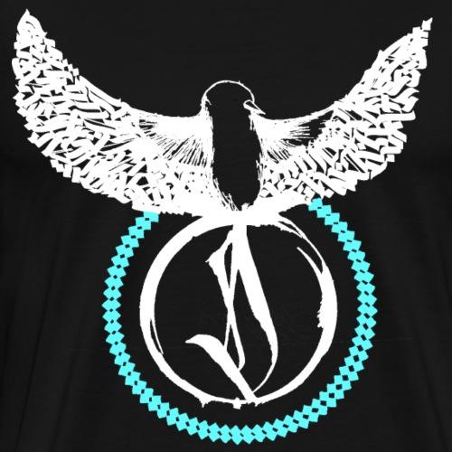 Calligrafibird Dase One - Männer Premium T-Shirt