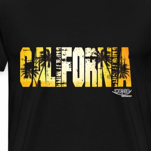 Kalifornien - Sommer Sonne Sonnenschein - Männer Premium T-Shirt