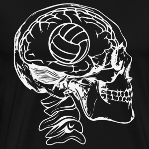 Volleyball in the head - Men's Premium T-Shirt