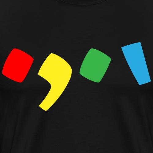 Tjien Logo Design - Accents - Mannen Premium T-shirt