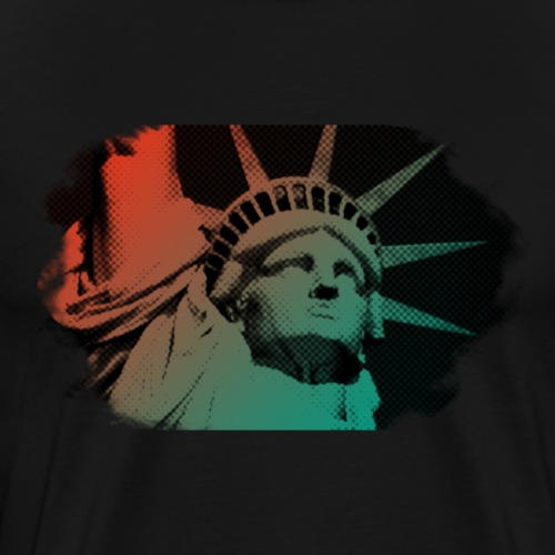 Freiheitsstatue - Männer Premium T-Shirt