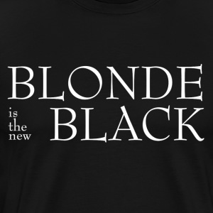 Blond! - Premium T-skjorte for menn