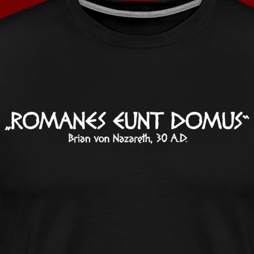Romanes Eunt Domus - Männer Premium T-Shirt