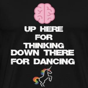 thinking and dancing - Men's Premium T-Shirt