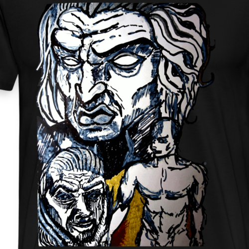 Mask of Sanity - Mannen Premium T-shirt