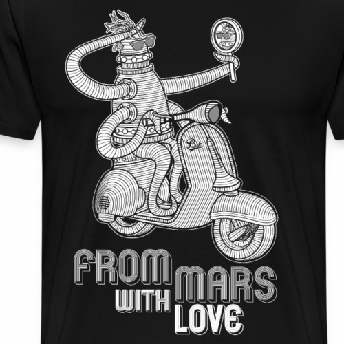 from mars with love - T-shirt Premium Homme