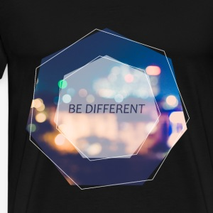 Be Different - Maglietta Premium da uomo