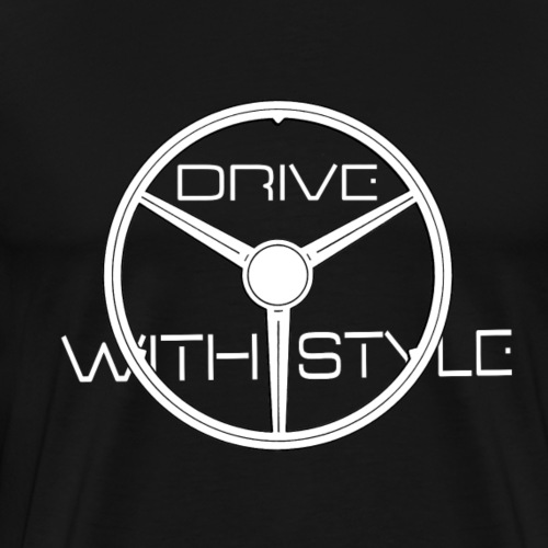 Edition Trois Branches DriveWithStyle - T-shirt Premium Homme