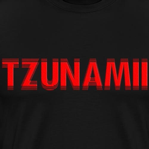 TZUNAMIIrot - Männer Premium T-Shirt