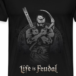 Life is Feudal Steam Badge 1 - T-shirt Premium Homme