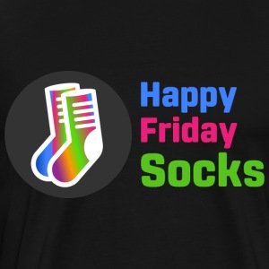 Happy Friday Socks - Premium-T-shirt herr