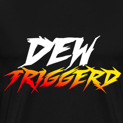 Official Dew Triggerd Design - Men's Premium T-Shirt