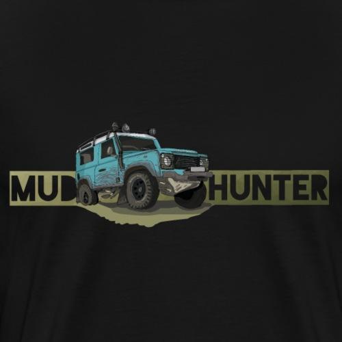 Mud Hunter - Offroad Ikone - Männer Premium T-Shirt