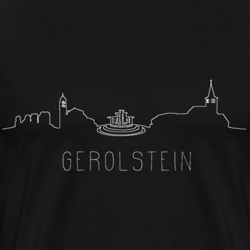 Gerolstein - Eifel - Skyline - Männer Premium T-Shirt