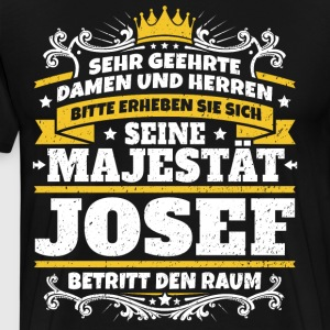 His Majesty Josef - Men's Premium T-Shirt