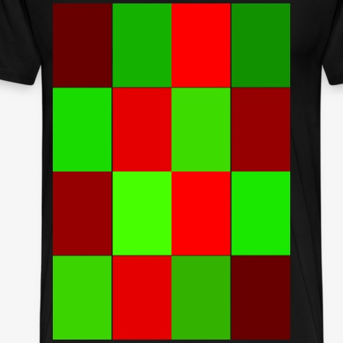 Rechtecke - Männer Premium T-Shirt