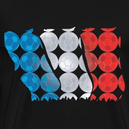 Fussball WM oder EM Frankreich - Männer Premium T-Shirt