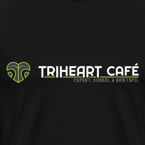 TRIHEART LOGO NY WHITER - Herre premium T-shirt