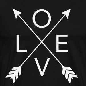 love arrows - Men's Premium T-Shirt