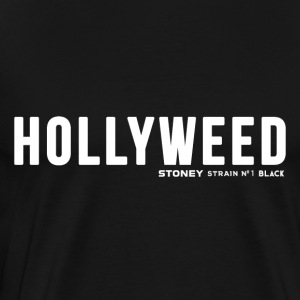 HOLLYWEED Strain No.1 BLACK - Herre premium T-shirt