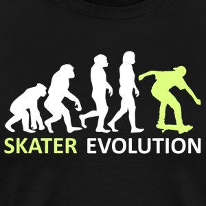 ++ ++ Skater Evolution - Premium-T-shirt herr