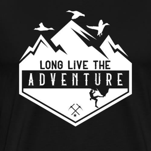 Long Live The Adventure - Männer Premium T-Shirt