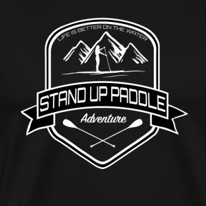 Stand Up Paddle Adventure - Women Edition - Men's Premium T-Shirt