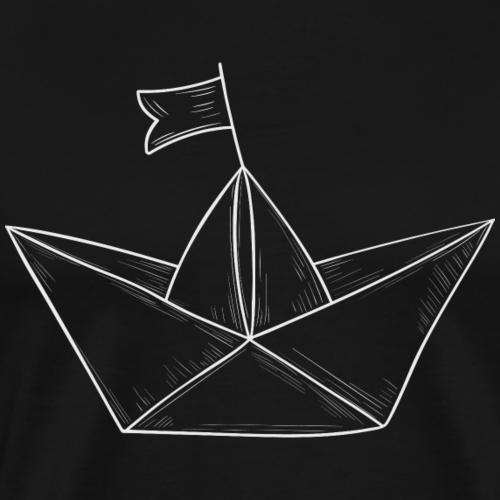 Paper Boat #1 - Männer Premium T-Shirt