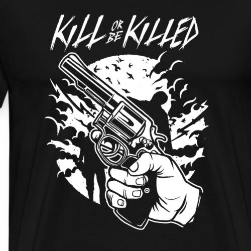 Zombie Shooter - Männer Premium T-Shirt