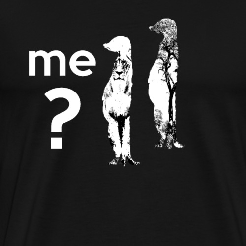 Erdmänchen Funny Tee - Männer Premium T-Shirt