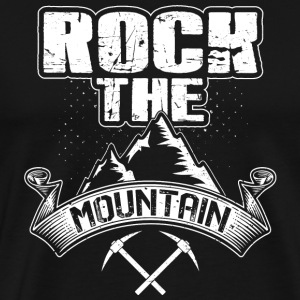 Rock Mountain - Premium-T-shirt herr